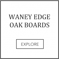 waney edge oak board stock