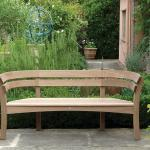 Gaze Burvill bench in formal garden