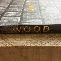 the cover of WOOD the new book by willian hall and richard mabey