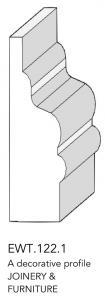 joinery and furniture profile and moulding EWT 122.1