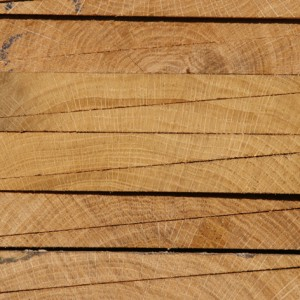 fresh sawn oak featheredge cladding