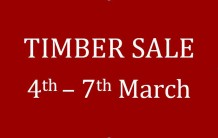 Timber Sale 4th to 7th March