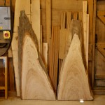 chestnut T&T waney end boards