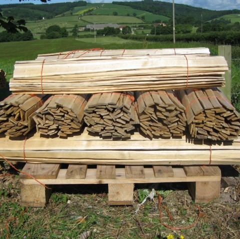 sweet chestnut hand riven laths