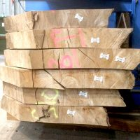80mm sycamore waney edge boards for kitchen worktops desks and table making