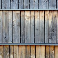 fresh sawn rainscreen timber cladding weathered and silvered down