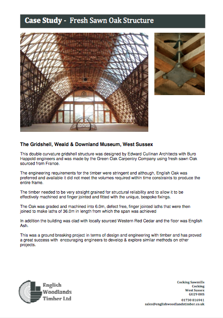 english woodlands timber case study the gridhsehll at weald and download open air museum