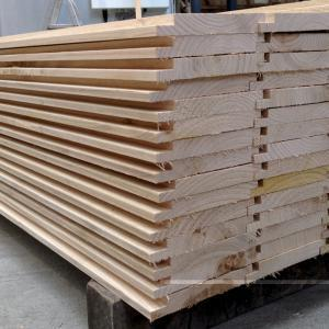 Sweet Chestnut finger jointed cladding