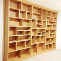 MHW Design oak wall unit