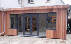 The Joinery Barn timber building extensions with timber cladding