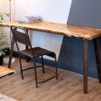 revive joinery live edge desk in homegrown timber