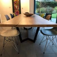 revive joinery waney edge dinijng table