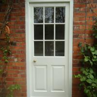 exterior glazed door by james pillier joinery