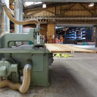 the renovated machine shop has more space and a better workflow wood