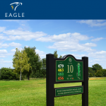 eagle promotions signage for golf courses