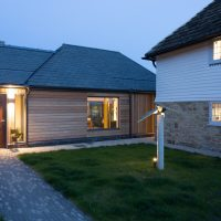 modern extension to traditional building by nicholls countryside
