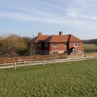 nicholls countryside construction red tilehung tradition country house