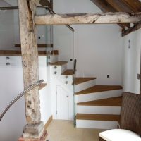 simpson joinery new staircase for a timber framed building