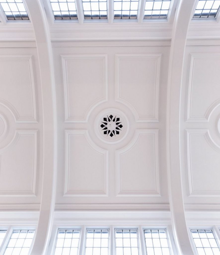 interior joinery and plasterwork ceiling detail for perior property in london by r w armstrong and sons