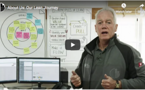 Ian McNally owner & director talks about our Lean journey with business coach gemma jones