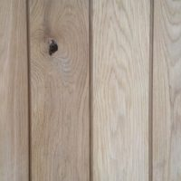 27mm ash interior cladding detail on in the POD at the woodyard no fixings