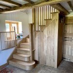 LA Joinery oak cottage staircase