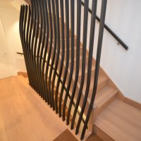 JLA Joinery spindles stairwell