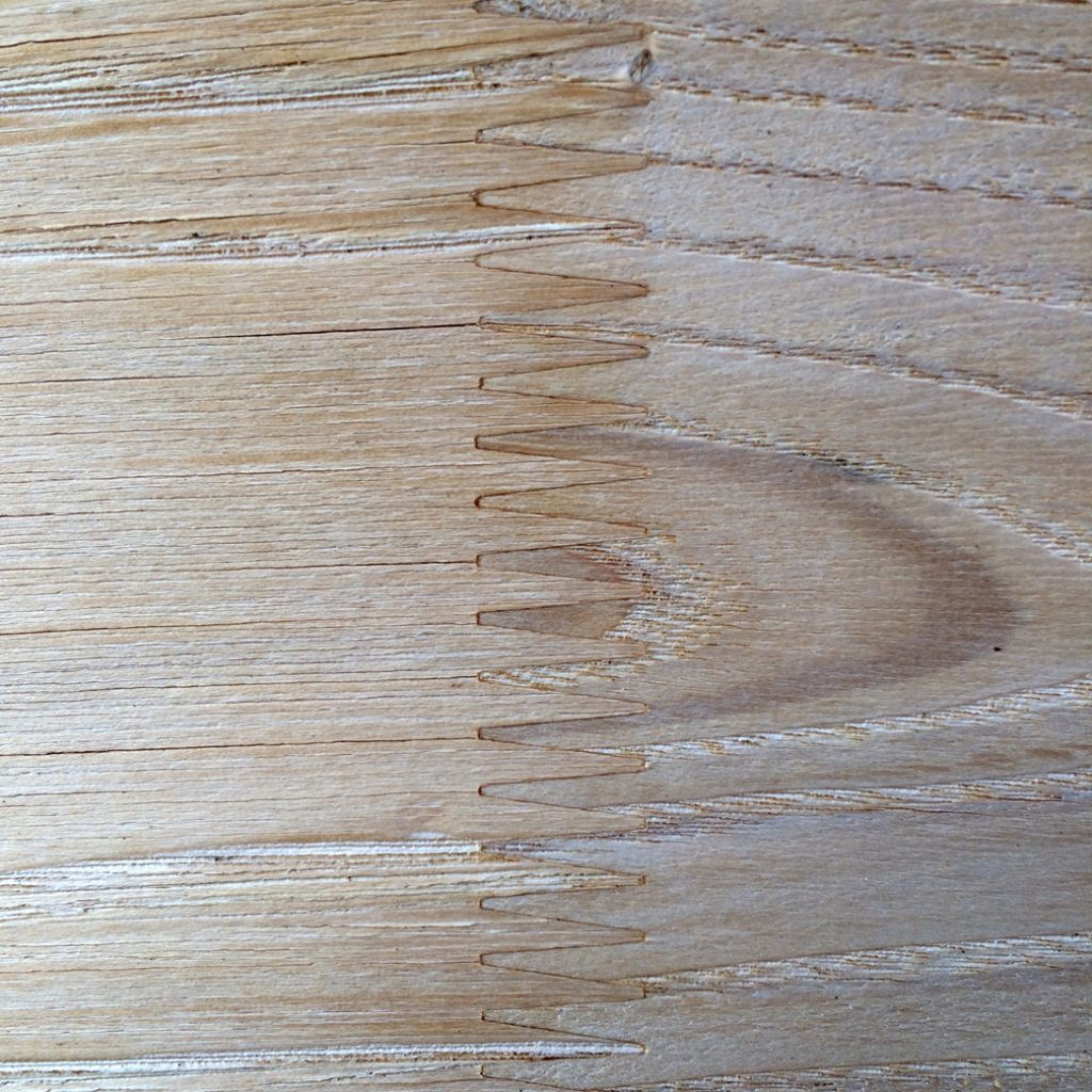 air dried swet chestnut finger jointed timber cladding pefc certified sustainable timber