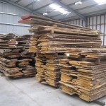 kiln dried French waney edge Oak 18mm depareille for panelling